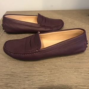 Shoes - Tods Gommini Driving Moccasin in Purple